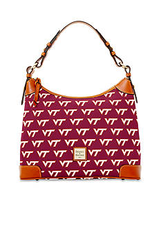 Dooney & Bourke Virginia Tech Hobo
