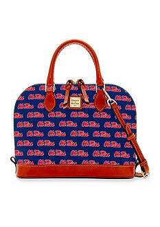 Dooney & Bourke Ole Miss Zip Zip Satchel