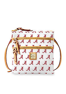 Dooney & Bourke Alabama Triple Zip Crossbody