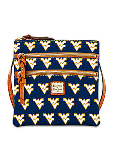 Dooney & Bourke West Virginia Triple-Zip Crossbody