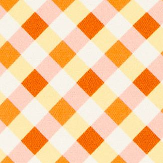 Handbags & Accessories: Totes & Shoppers Sale: Orange Yellow Dooney & Bourke Gingham Tote