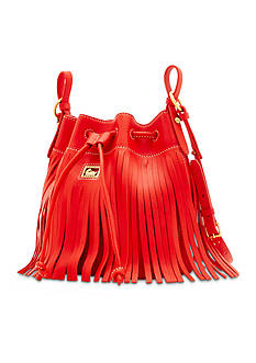 Dooney & Bourke Lulu Fringe Drawstring Bag