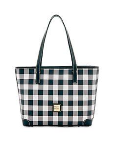 Dooney & Bourke Buffalo Check Charleston Shopper Bag