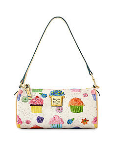 Dooney & Bourke Cupcake Print Mini Barrel Bag