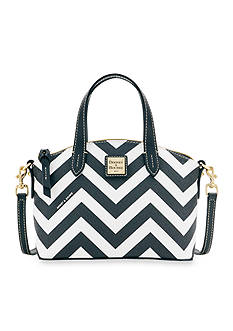 Dooney & Bourke Chevron Ruby Mini Satchel