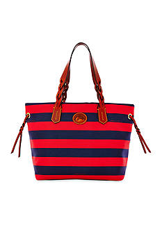 Dooney & Bourke Rugby Striped Shopper