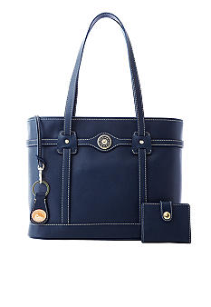 Dooney & Bourke Leather Logo Lock Tote and Gifts