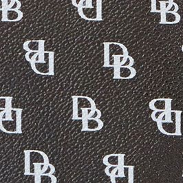 Handbags & Accessories: Designer Sale: Black/Black Dooney & Bourke Gretta Signature Hobo