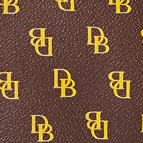 Handbags & Accessories: Designer Sale: Brown T'mo Dooney & Bourke Gretta Signature Hobo