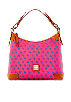 Dooney & Bourke Gretta Signature Hobo