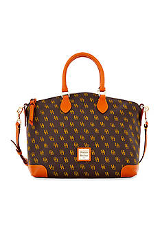 Dooney & Bourke Gretta Signature Satchel