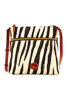 Dooney & Bourke Zebra Print Crossbody