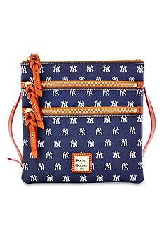Dooney & Bourke New York Yankees Triple Zip Crossbody