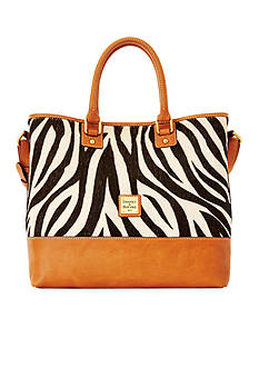 Dooney & Bourke Zebra Calf Hair Shopper