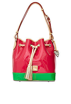 Dooney & Bourke Patent Leather Drawstring Bag