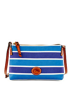 Dooney & Bourke Nylon Stripe Pochette Crossbody