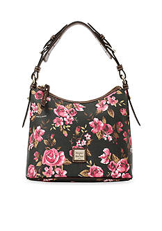 Dooney & Bourke Cabbage Rose Lucy Hobo