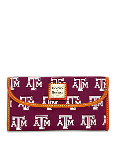 Dooney & Bourke Texas A&M Clutch Wallet