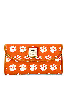 Dooney & Bourke Clemson Clutch Wallet