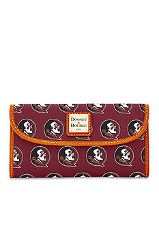 Dooney & Bourke Florida State Clutch Wallet