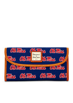 Dooney & Bourke Ole Miss Clutch Wallet