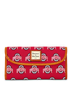 Dooney & Bourke Ohio State Clutch Wallet