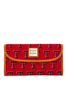 Dooney & Bourke Texas Tech Clutch Wallet