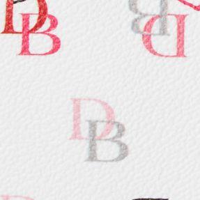 Valentine's Day Gifts: White Multi Dooney & Bourke Heart Print Wristlet