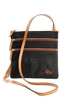 Dooney & Bourke Triple Zip Nylon Crossbody