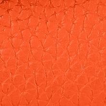 Discount Designer Handbags: Persimmon Dooney & Bourke Pebble Leather Continental Clutch