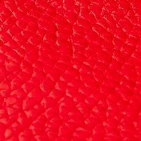 Designer Handbags: Red Dooney & Bourke Pebble Leather Continental Clutch