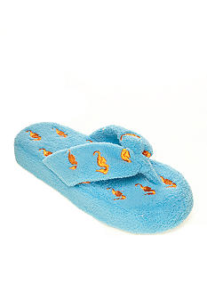 Olivia Miller Seahorse Terry Cloth Slippers