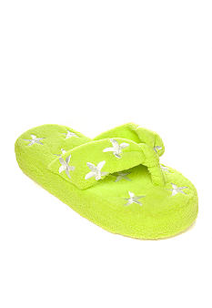 Olivia Miller Starfish Terry Cloth Slipper