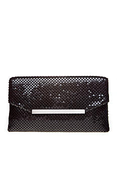 Jessica McClintock Metal Mesh Clutch with Bar