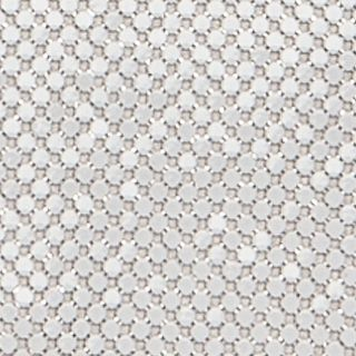 Handbags and Wallets: White Jessica McClintock Metal Mesh Envelope Clutch