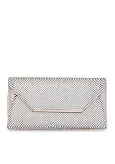Jessica McClintock Metal Mesh Envelope Clutch