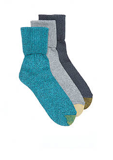 Gold Toe Bermuda Fashion Socks - 3 Pack