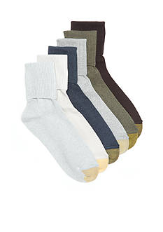 Gold Toe Turn Cuff Socks - 6 Pack