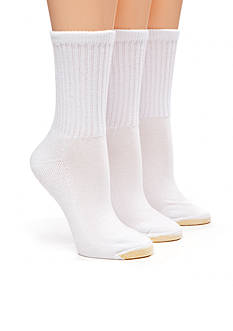 Gold Toe HydroTec Athletic Three Pair Pack Crew Sock