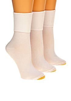 Gold Toe Anklets Fx Three Pack Socks