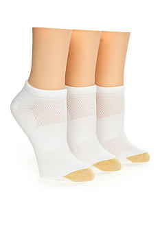 Gold Toe® Coolmax Cotton Liner Three Pack