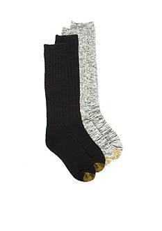 Gold Toe Boyfriend Slouch Boot Socks - 2 Pack