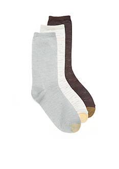 Gold Toe Jet Crew Socks - 3 Pack