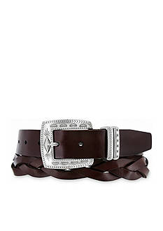 Brighton Vista Braid Casual Belt