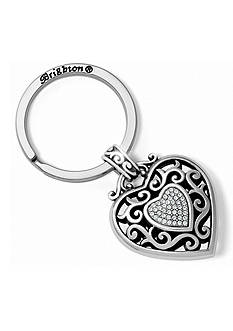 Brighton Reno Heart Key Fob