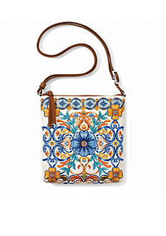 Brighton Fiorella Embroidered Pouch