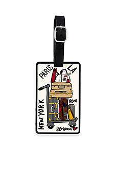 Brighton Check In Luggage Tag