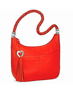 Brighton Barbados Zip Top Hobo Bag