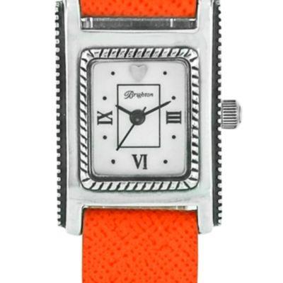 Women: Brighton Accessories: Silver/Apricot Brighton JEFFERSON TIMEPIECE