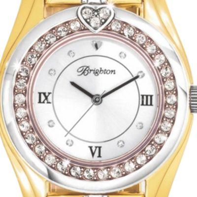 Women: Brighton Accessories: Gold Brighton DANA POINT WATCH